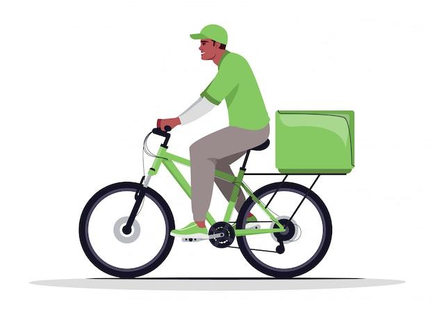 Illustrazione piana dei semi di consegna domestica del pacchetto