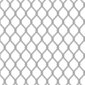 Illustrazione pungente del recinto del modello, acciaio del metallo di sicurezza