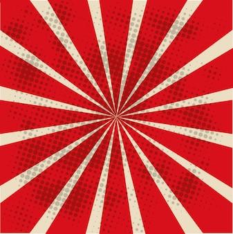 Illustrazione rossa della carta da parati