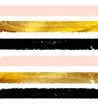 Illustrazione scintillante della vernice dell'oro.