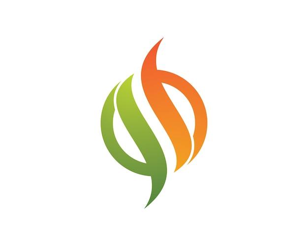 Illustrazione simbolo di fuoco