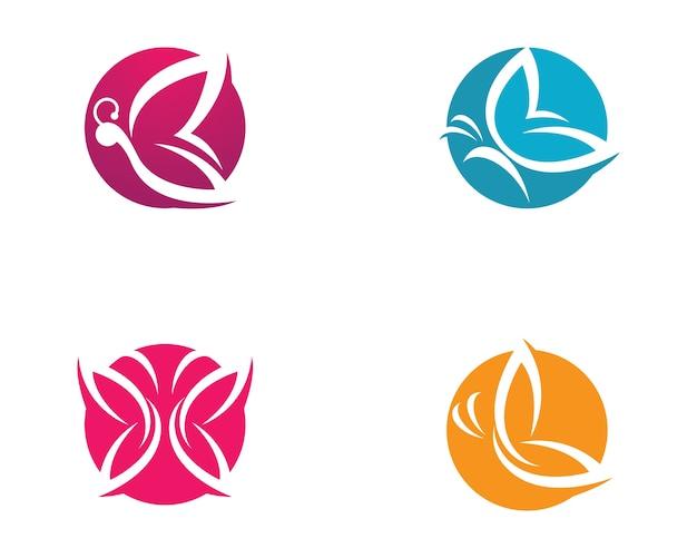 Illustrazione simbolo farfalla