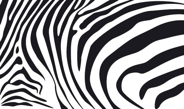 Illustrazione strutturata della priorità bassa della pelle della zebra
