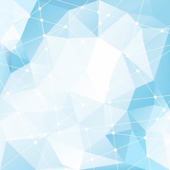 Illustrazione strutturata di cristallo della priorità bassa