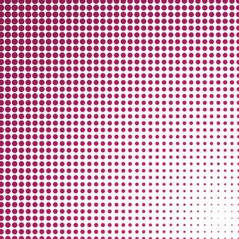 Illustrazione vettoriale blue luce che consiste di cerchi. disegno puntato a gradiente per la tua attività. sfondo geometrico creativo in stile mezzitoni con macchie colorate.