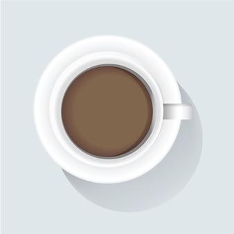 Illustrazione vettoriale di caffè icona
