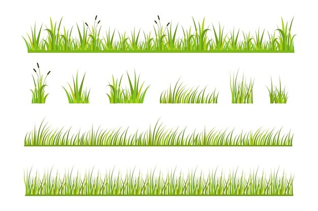 Illustrazione vettoriale di erba