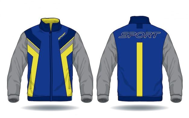 Illustrazione vettoriale di giacca sportiva