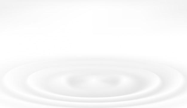 Illustrazione vettoriale di gocce di latte