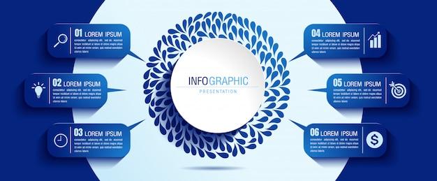 Illustrazione vettoriale di infografica