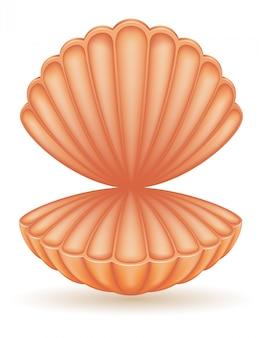 Illustrazione vettoriale di mare shell