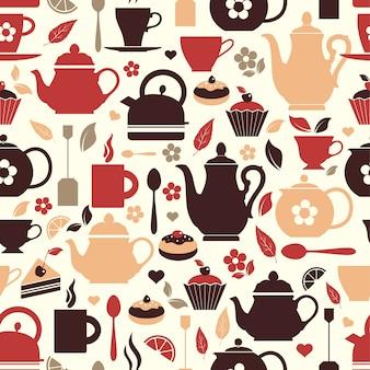 Illustrazione vettoriale di tè
