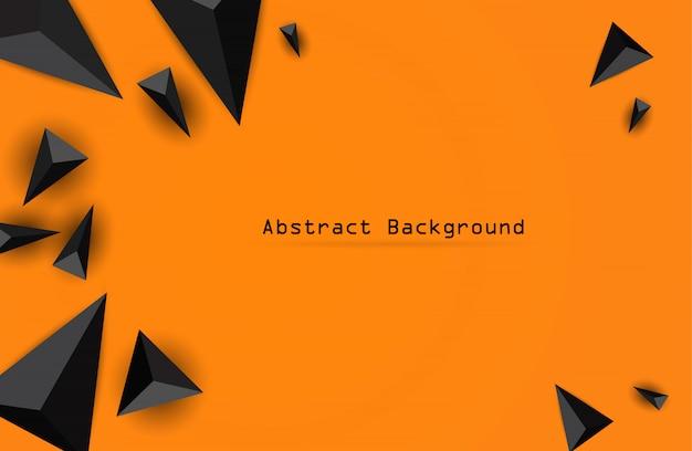 Illustrazione vettoriale su sfondo arancione.