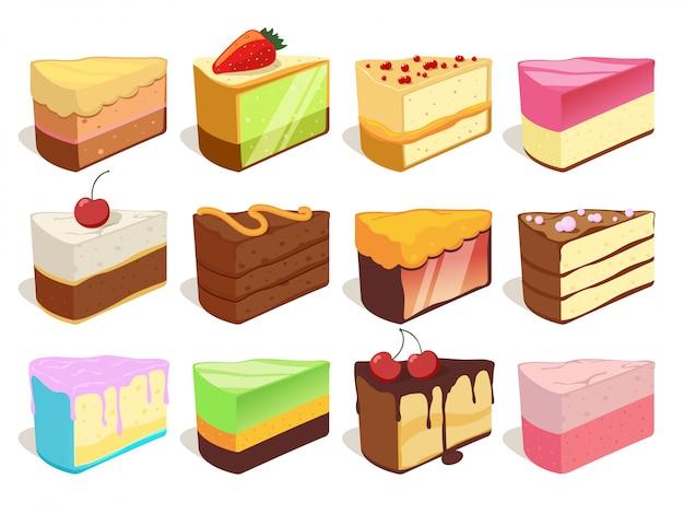Illustrazioni di gelati diversi. vector seamless. priorità bassa del reticolo del gelato della cialda e del cioccolato
