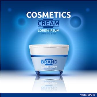 Imballaggio cosmetico realistico