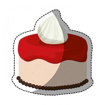 Immagine dell'icona di pasticceria torta impreziosita