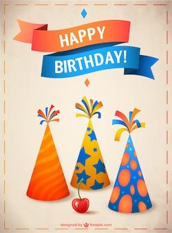 Immagine di compleanno vettoriale