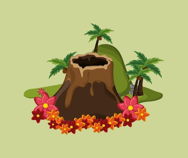 Immagine di icone di viaggio di vacanza