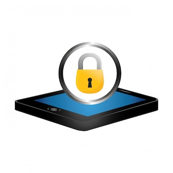 Immagine di sicurezza digitale o internet