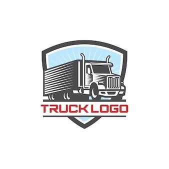 Immagine di vettore di logo di camion