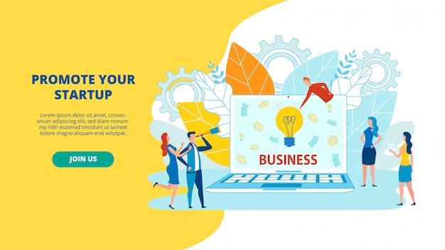 Immagine piatta animata. modi promuovere gli affari.