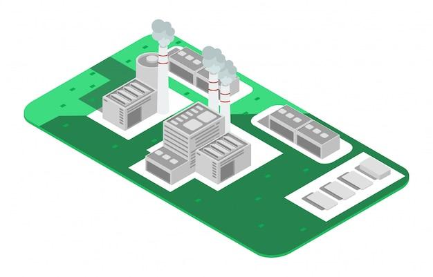 Impianto di riciclaggio di rifiuti e rifiuti poli basso