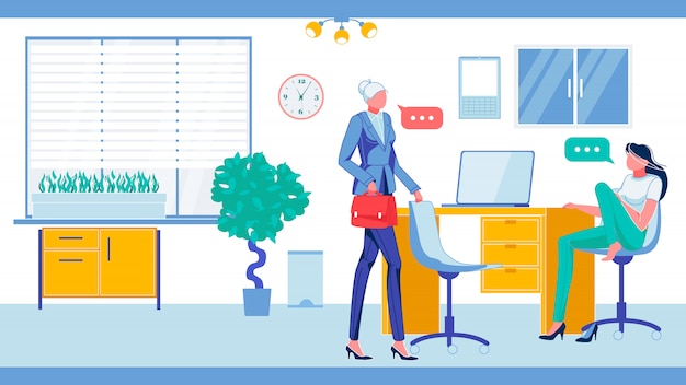 Impiegati d'ufficio in un ambiente di lavoro informale.
