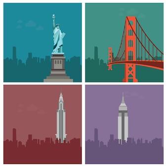 Importanti edifici d'america
