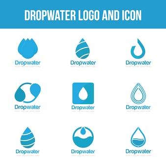 Imposta il logo goccia d'acqua