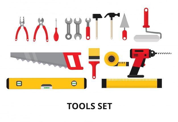 Imposta la riparazione degli strumenti di costruzione