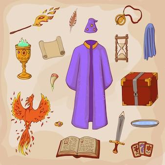 Imposta per giocare un mago