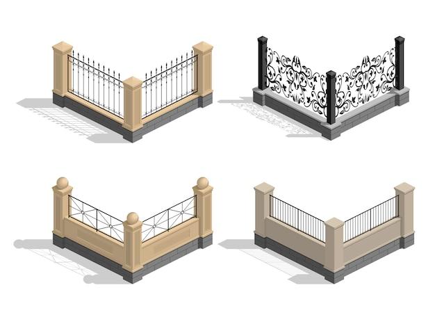 Imposta sezioni di recinzione