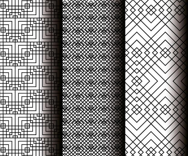 Impostare figure geometriche in modelli senza cuciture grigi