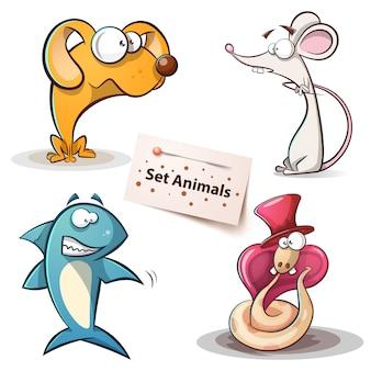 Impostare gli animali