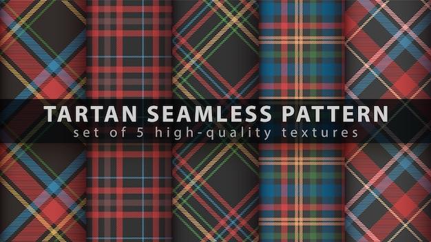 Impostare il classico motivo scozzese senza soluzione di continuità