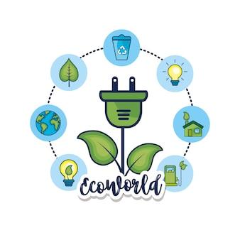 Impostare l'ecologia per la cura dell'ambiente naturale