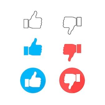 Impostare l'icona mi piace e cuore. streaming live video, chat, mi piace.
