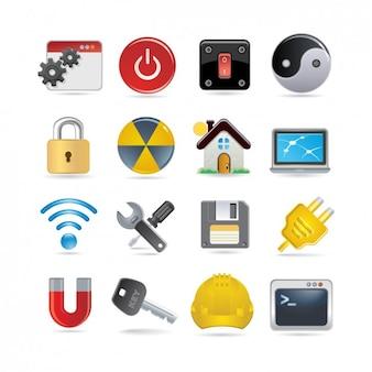 Impostazione icon set