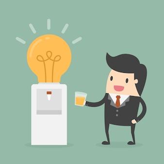Imprenditore avere un'idea