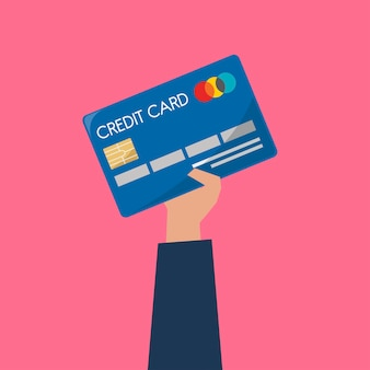 Imprenditore in possesso di una carta di credito