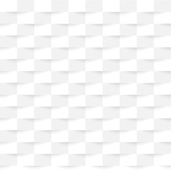 Imprese di texture di sfondo bianche con ombre sotto il quadrato.