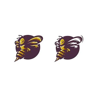 Impressionante personaggio delle api
