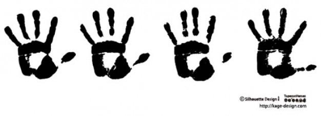 Impronte di mani 2