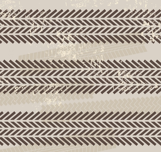 Impronte di pneumatici