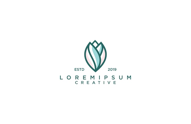 Incredibile logo di loto