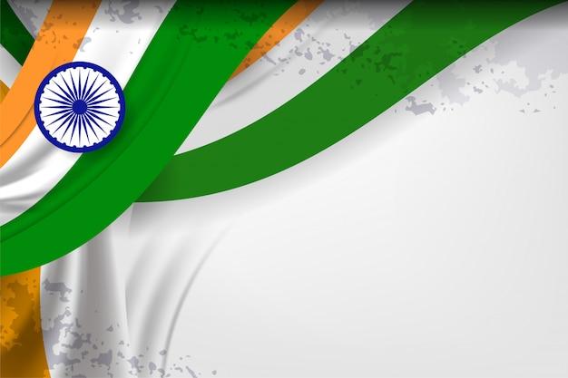 India bandiera colore sfondo