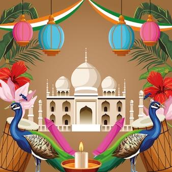 India monumento nazionale turismo