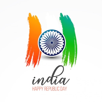 India, repubblica, giorno, 26 gennaio, fondo