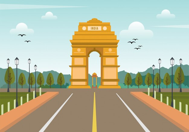 India sfondo arco trionfale