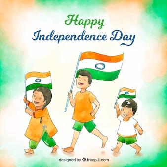 Indiano sfondo del giorno dell'indipendenza